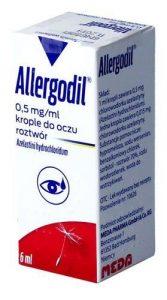allergodil krople przecwialergiczne