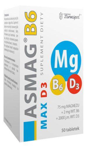 asmag b6 z witaminą d3