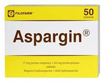 aspargin tabletki z magnezem