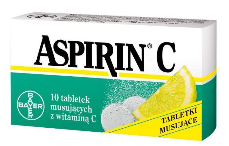 aspirin c lek na przeziębienie najlepszy