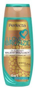 balsam brązujący perfecta i love bronze