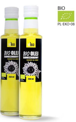 bio olej słonecznikowy