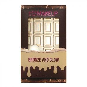 bronzer w tabliczce czekolady i heart makeup