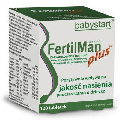 fertilman tabletki dla mężczyzn