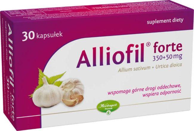 kapsułki czosnkowe Alliofil