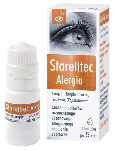 krople do oczu starelltec alergia