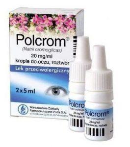 krople przeciwalergiczne polcrom