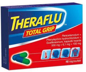 lek na przeziębienie theraflu total grip