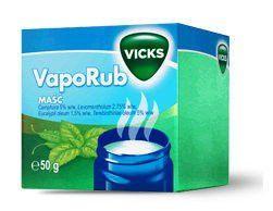 maść na przeziębienie vicks vaporub