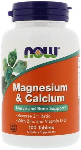 magnesium & calcium tabletki na nerwy
