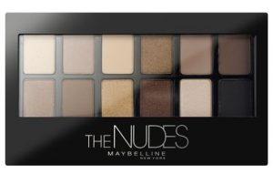 maybelline nudes paleta cieni do powiek