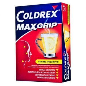 najlepszy lek na przeziębienie coldrex maxgrip