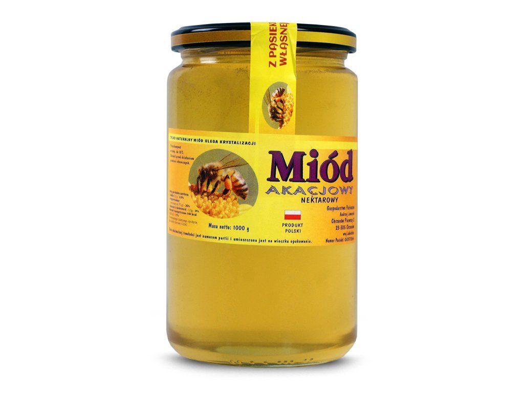 najlepszy miód akacjowy tanio