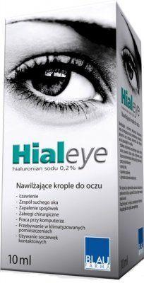 nawilżające krople do oczu hialeye