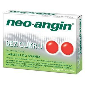 neoangin tabletki do ssania bez cukru