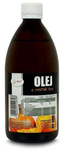 olej z pestek dyni nierafinowany