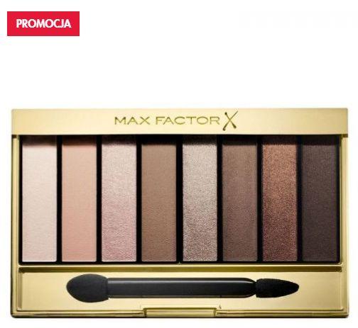 paletka cieni do powiek max factor nude palette