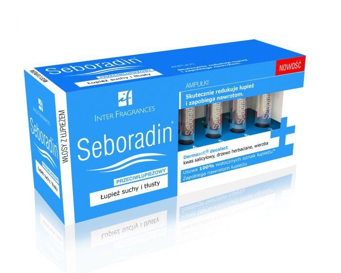 seboradin ampułki przeciwłupieżowe