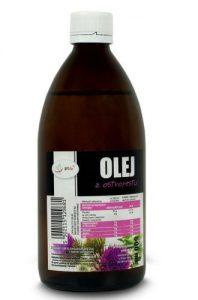 zimnotłoczony olej z ostropestu